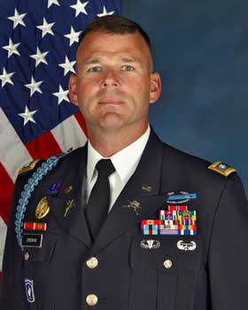 27th BCT Commander's Biography